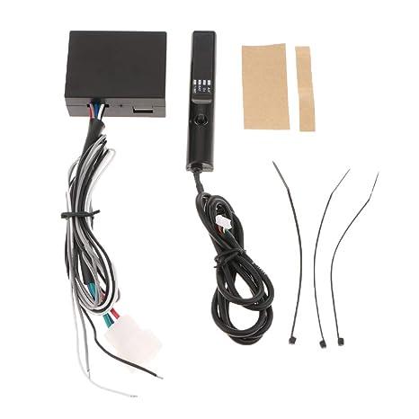 KESOTO Temporizador Turbo Digital Display para Coche Auto