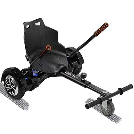 Qoovi Cool Mini Hoverboard Kart Accessories Adjustable for -All Heights-  All Ages-Two Wheel Self Balancing Scooter -Compatible with All