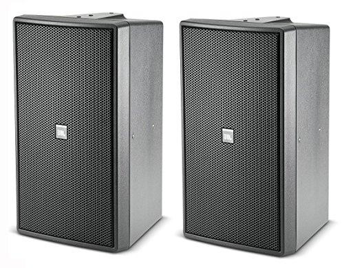 (JBL C29AV-1 | Control 29AV Premium Indoor Outdoor Monitor Speaker Black (Pair))
