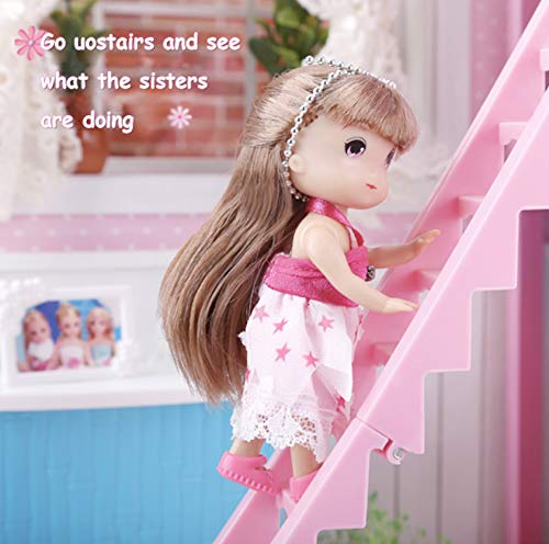 Homemade Doll Clothes-Pretty Mermaids Print Robe fits Barbie//Ken//Elf  R3