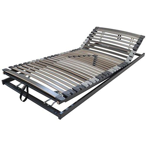 Perbix XXL Lattenrost bis 200 kg - Rahmen KF verstellbar, 90x200 cm