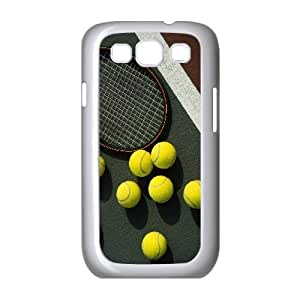 Custom Case for Samsung Galaxy S3 I9300 with Personalized Design Tennis