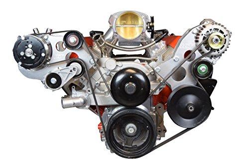 (LS - Sanden 508 A/C Air Conditioner Compressor Bracket Kit LS1 LS3 LSX AC Heavy Duty 551474-3)