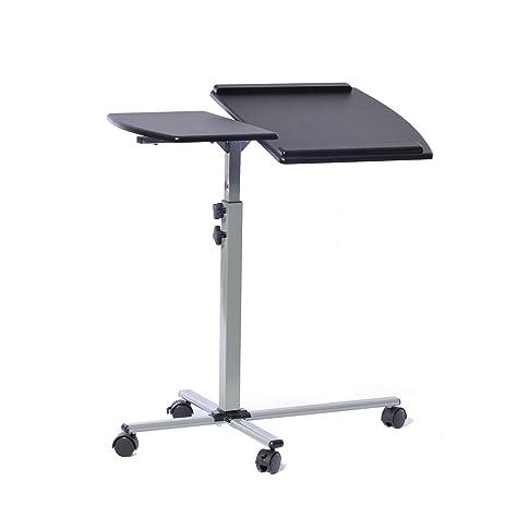 amazon.com: techni mobili height adjustable laptop cart, graphite ... - Mobili Tv Amazon