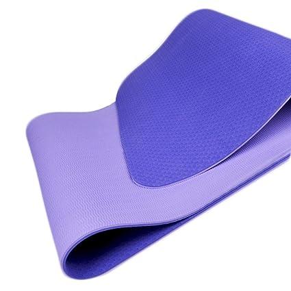 WangLx Ele Colchoneta de Yoga Esterilla Yoga Material ...