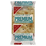 Premium Saltine Unsalted Crackers, 0.200 Ounce