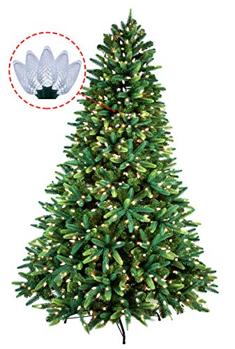 Artificial Christmas Tree Multicolor Led Lights in US - 8