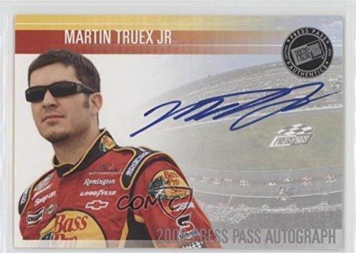 martin truex jr autograph