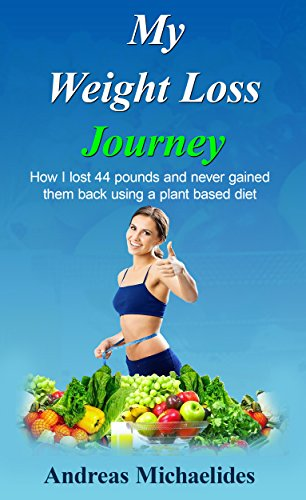 My weight loss journey: How I lost 44 pounds and never gained them back using a plant based diet