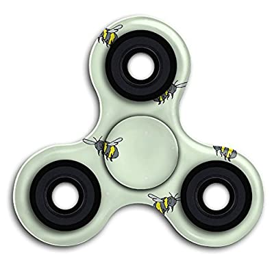 Buzzing Bumble Bees(1685) Fingertip Gyro EDC Tri Spinner Stress Reducer Relieve Anxiety For Children & Adults