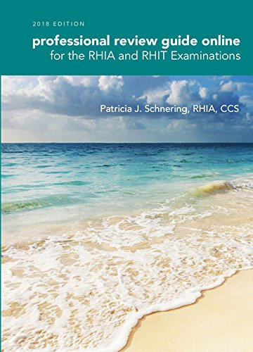 Schnering's Professional Review Guide Online for the RHIA and RHIT Examinations, 2018, 2 terms (12 months) Printed Access Card