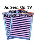 Review: As Seen On TV Sani Sticks Review 24 Pack