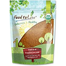 Food to Live Certified Organic Cocoa Powder (Natural, Non-Dutched, Non-GMO, Kosher, Unsweetened, Fair Trade, Bulk) (2 Pounds)