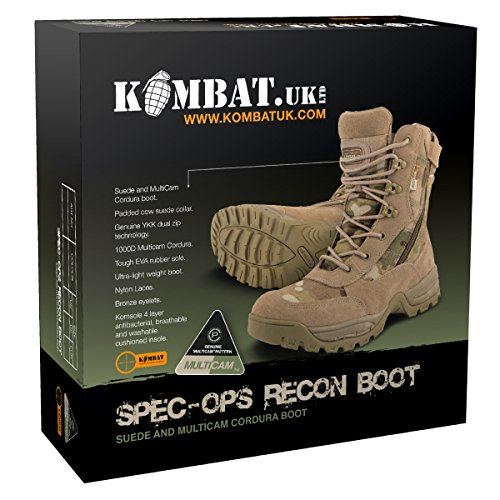 Kombat Uk Bottes Homme Spec-Ops Recon Taille 5