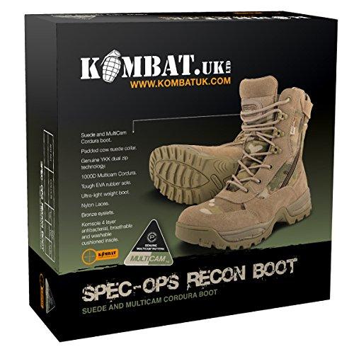 Kombat - Spec-Ops Recon - Bottes - Homme - Kaki - 39 EU (5 UK)