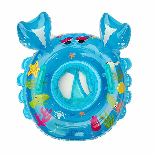 Cute Crab Swim Ring Chickwin 1Pcs Kids Iinflatable Rring Swimming Child Llife Buoy Mount Toy Baby Swimsuit Seat Armpit Circle Outdoor Beach