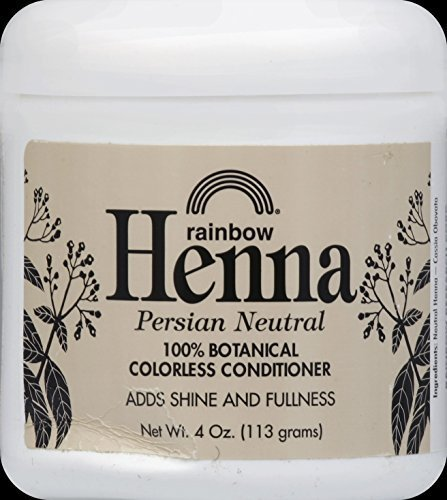 Henna (Persian) - Neutral, 4 oz ( Multi-Pack) by Rainbow Research