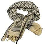 Shemagh Tactical Scarf 8 in 1 Large Thick Military Desert Keffiyeh Head Neck Arabe Scarf