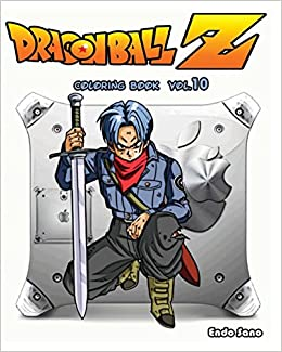 buy dragonball z coloring book 10 book online at low prices in india dragonball z coloring book 10 reviews ratings amazonin - Dragon Ball Z Coloring Books For Sale
