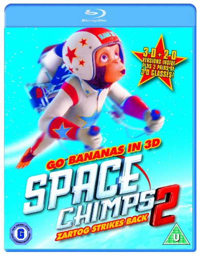 Space Chimps 2 [BLU-RAY]