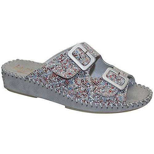 Sandal Mosaic Women's Grey Jen LaPlume Tq8OAv