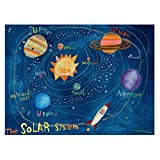 Oopsy Daisy The Solar System Stretched Art, 40 x 30''