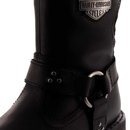 Harley Davidson Womens Barford Leather Boots