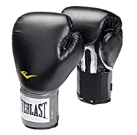 Everlast Erwachsene Boxartikel 2100 Velcro Pro Style Training Gloves, Black,...