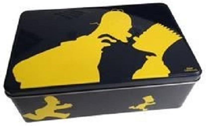Caja metálica para azúcar Simpsons: Amazon.es: Hogar