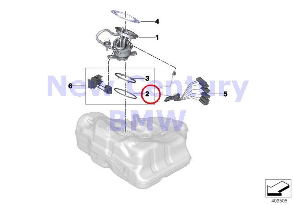 Amazon Com Bmw Genuine Fuel Filter Pump Level O Ring 740i 750i