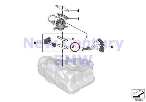 bmw genuine fuel filter pump level o-ring 740i 750i 750ix alpina b7 alpina  b7x