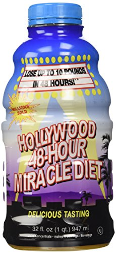 Hollywood 48--hr Miracle Diet juice Liquid Dietary Shake