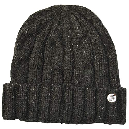 Guinness Cable and Rib Knit Hat, Charcoal Colour ()