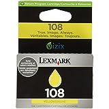 Cartucho Lexmark 108 Amarelo 4,4 ml 14N0342