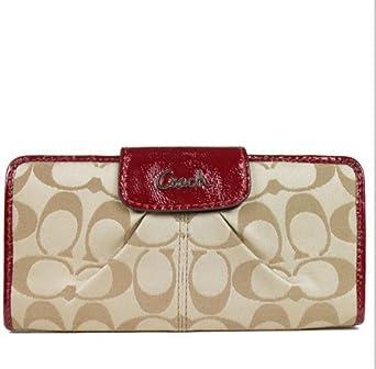online retailer 53a75 61f0c order coach signature slim envelope wallet deafd 1103a