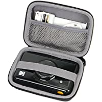 Hard EVA Travel Case for Kodak Mini / Mini 2 HD / Mini SHOT Wireless Mobile Instant Photo Printer w/4PASS Patented Printing Technology by co2CREA