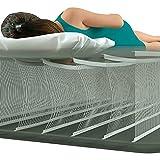 Intex Durabeam Deluxe Pillow Rest Air Mattress with Pump, Full