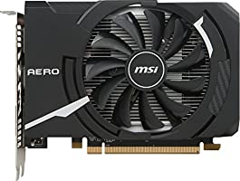 MSI Gaming Radeon RX 550 128-bit 4GB GDRR5 DirectX 12 VR Ready Graphcis Card (RX 550 AERO ITX 4G OC)