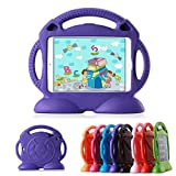 ipad cover for kids - iPad 2 3 4 Cases iPad 2 3 4 Covers Lioeo Durable Cute Foam Childproof Shock Proof Protective Kids Cover Case with Stand and Carrying Handle for Apple iPad 2 3 4 9.7 Inch Screen (Purple)