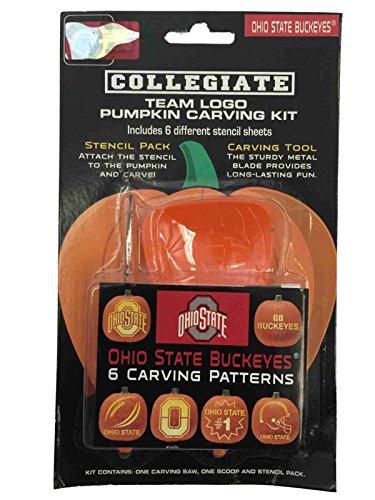 Ohio State Buckeyes NCAA Topperscot Team Logo Halloween Pumpkin Carving Kit