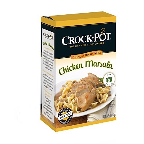 Crock-Pot Delicious Dinners Chicken Marsala, 6.25-Ounce