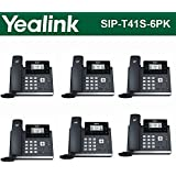 Yealink SIP-T41S 6-Pack IPPhone Gigabit Ethernet PoE Optima HD Voice