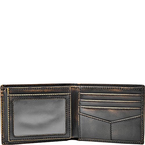 37eccd8e17abe0 Home · Wallets · Fossil Men's Wade Leather Bifold With Flip Id Black ·  Previous · / Next