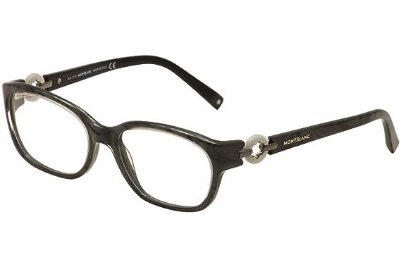 03a5f412279 Montblanc Prescription Eyeglasses - MB0442 005 - Black (54-17-135 ...