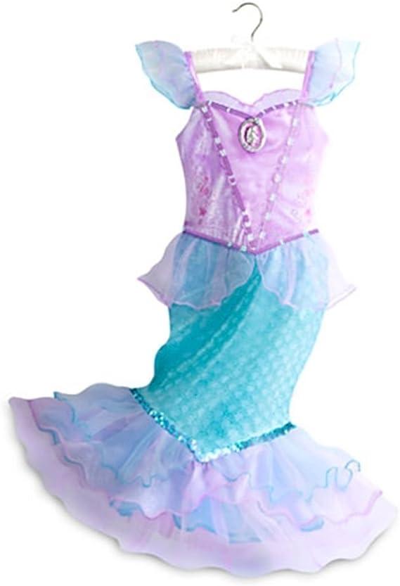 Tienda de Disney la Sirenita princesa Ariel disfraz vestido tamaño ...