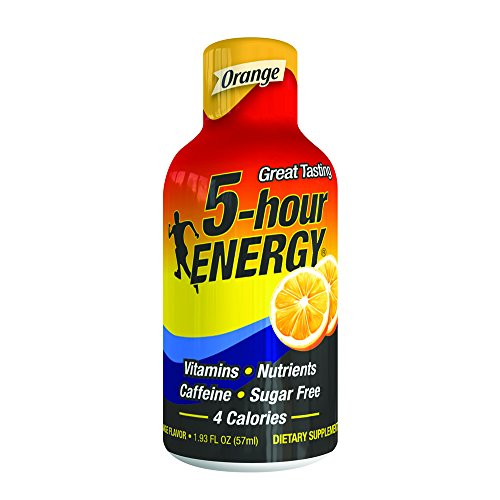 Regular Strength 5-hour ENERGY Shots – Orange Flavor – 24 Count from 5-hour ENERGY