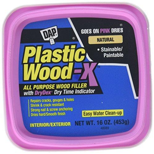 DAP 542 Series 00542 Pt Natural Plastic Wood-X w/Drydex