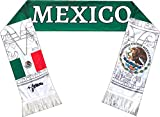 Perfect Hat Trick Official Mexico Flag Scarf - El Tri