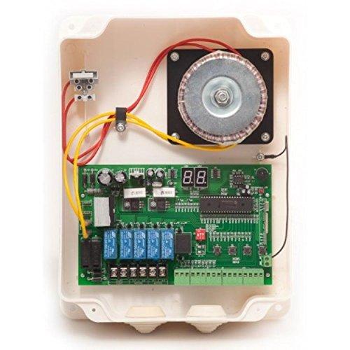 Telecomando di ricambio con alloggiamento per 24 V ALI apriporta automatici con 2 canali a portata di mano H-ANTECH