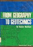 From Geography to Geotechnics, Benton MacKaye, 0252784154